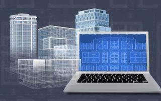 CAD drawings of buildings